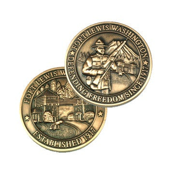 Fort Lewis Coin