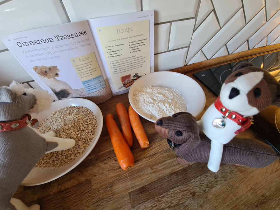 Baking Treats With The English Hound Gang!