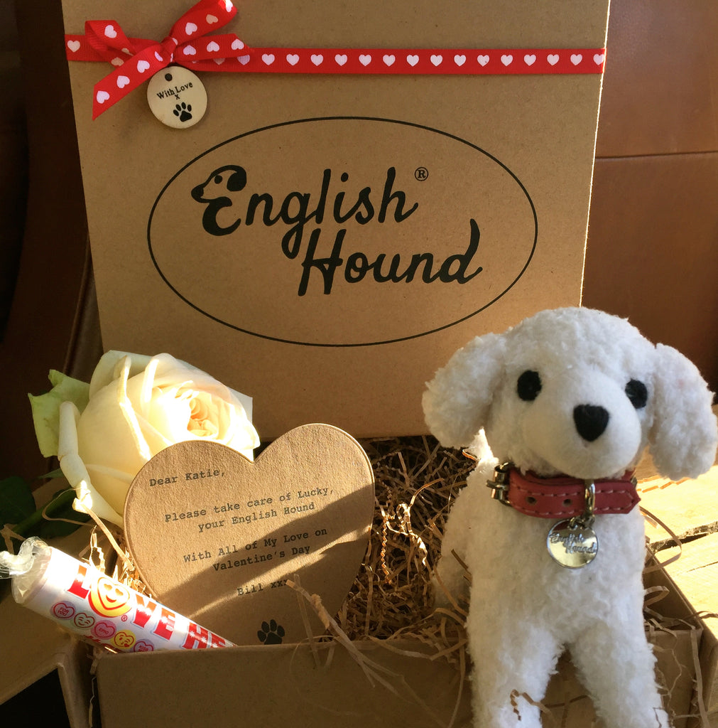 Valentine Hound - Limited Edition with 'Love Hearts'