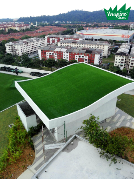 Artificial Grass Project - The Strand Mall, Malaysia
