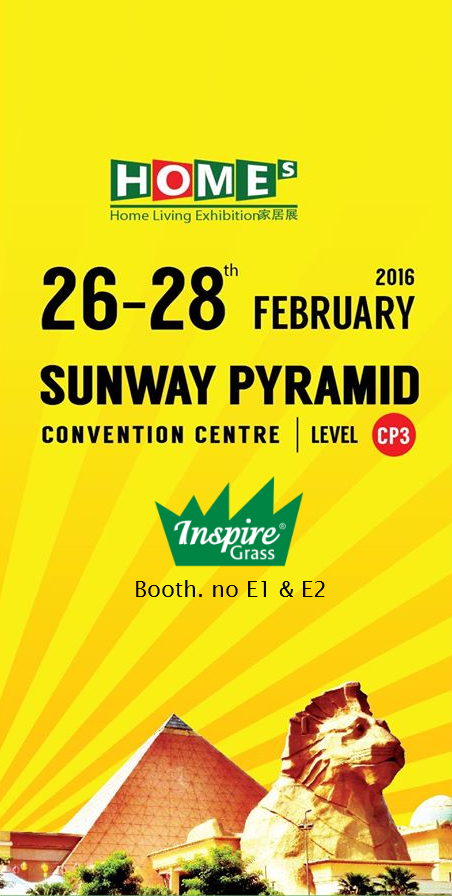 Visit Inspiregrass at Home Living Exhibition 2016