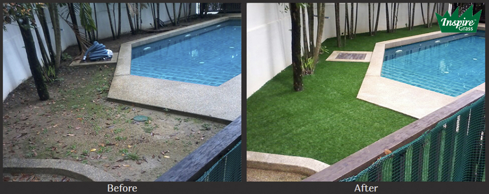 Artificial-Grass-Malaysia-SwimmingPool