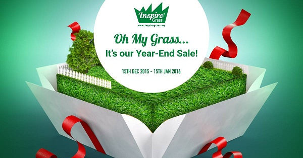 Artificial Grass - Year End Sale 2015