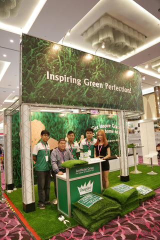 Artificial Grass iDCC Exhibition 1