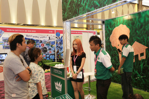 Artificial Grass iDCC Exhibition 2
