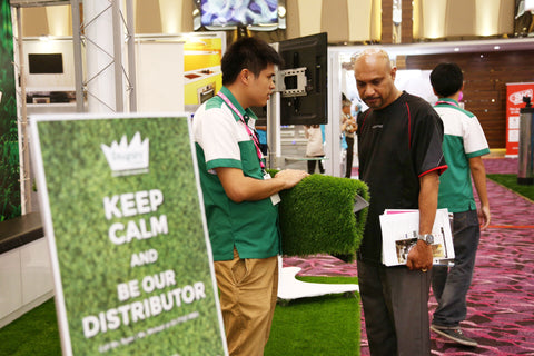 Artificial Grass iDCC Exhibition 3