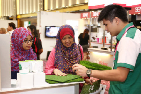 Artificial Grass iDCC Exhibition 6