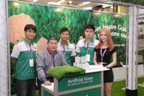 Artificial Grass iDCC Exhibition 7