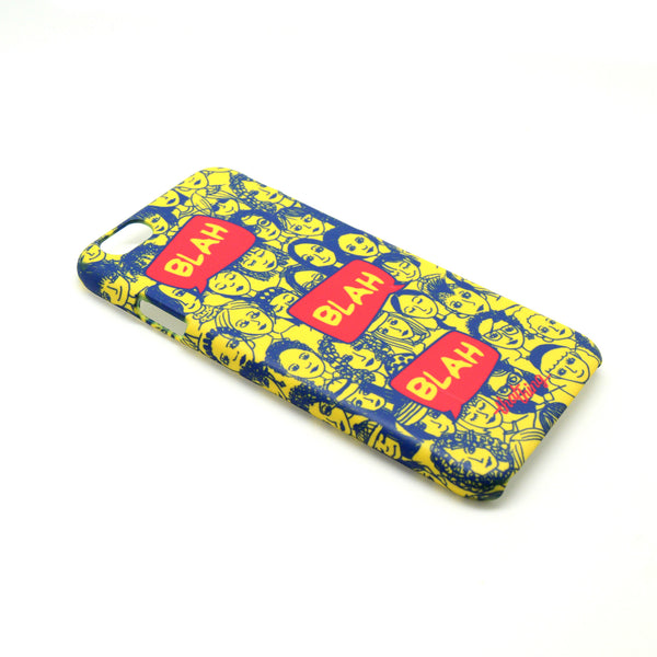 Blah Blah Blue Phone Cover