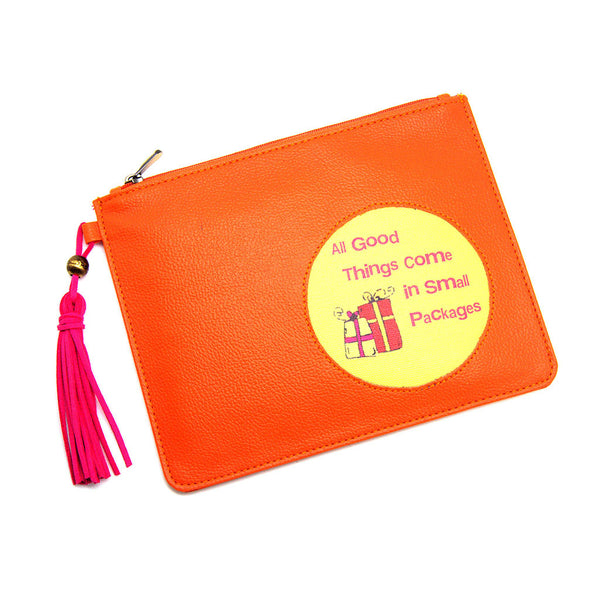 Orange Utility Pouch All Small Things Thathing_Main