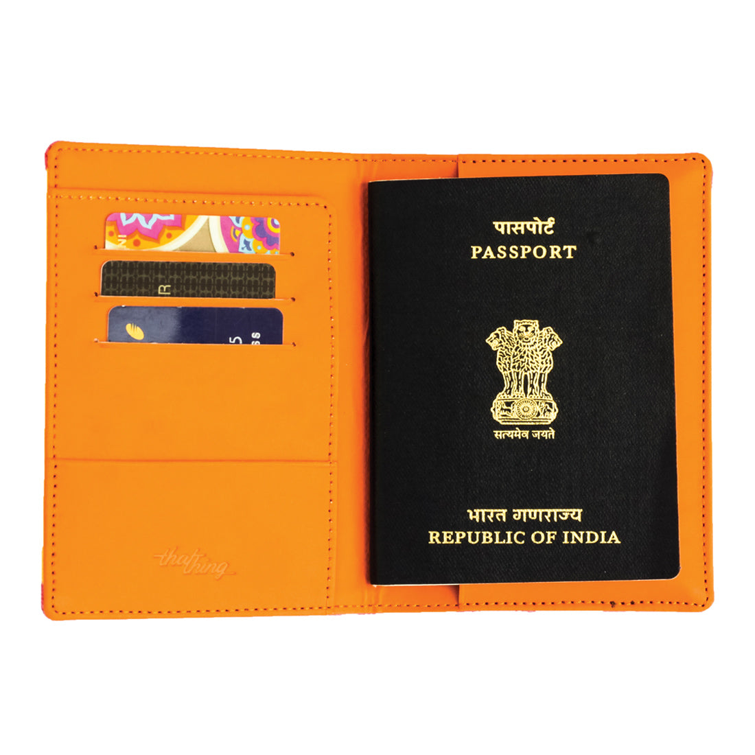 Suitcase Passport Wallet