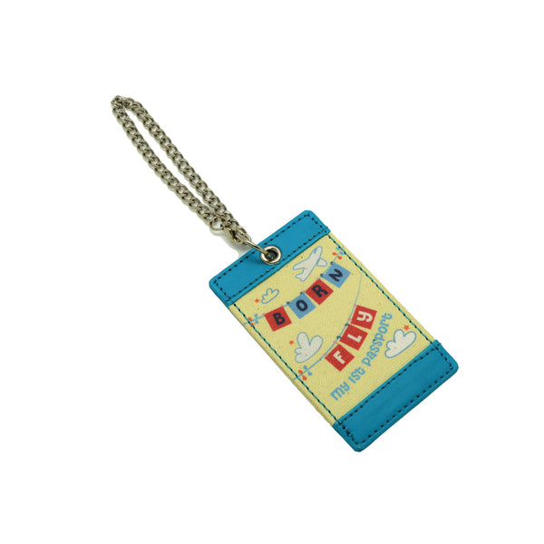 Born to Fly Luggage Tag