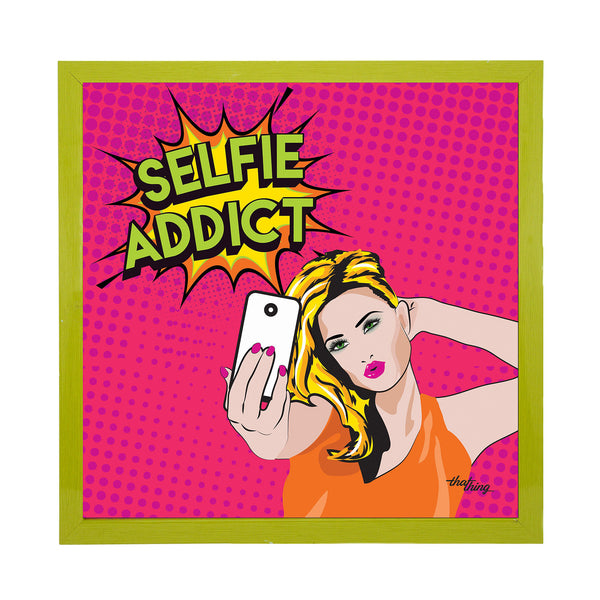 Selfie Addict Canvas Frame