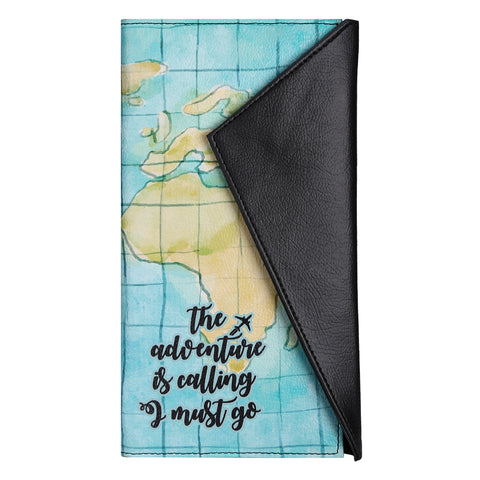 Adventure Is Calling Big Passport Wallet