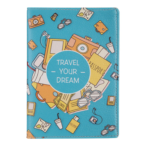 Travel Your Dream Passport Wallet