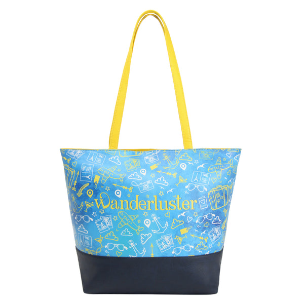 Wanderluster Women's Beach Bag