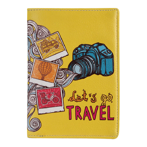 Lets Go Travel Passport Wallet