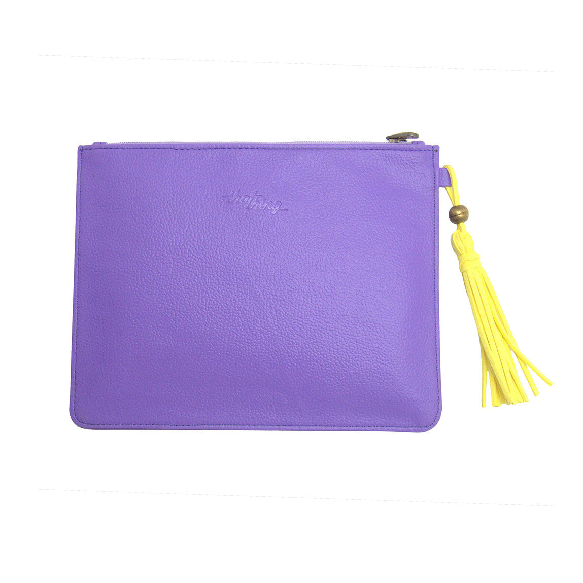 Purple Utility Pouch Work Of Art Thathing_Back