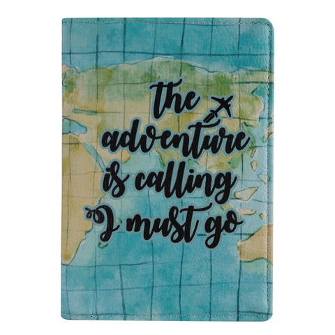 Adventure Is Calling Passport Wallet