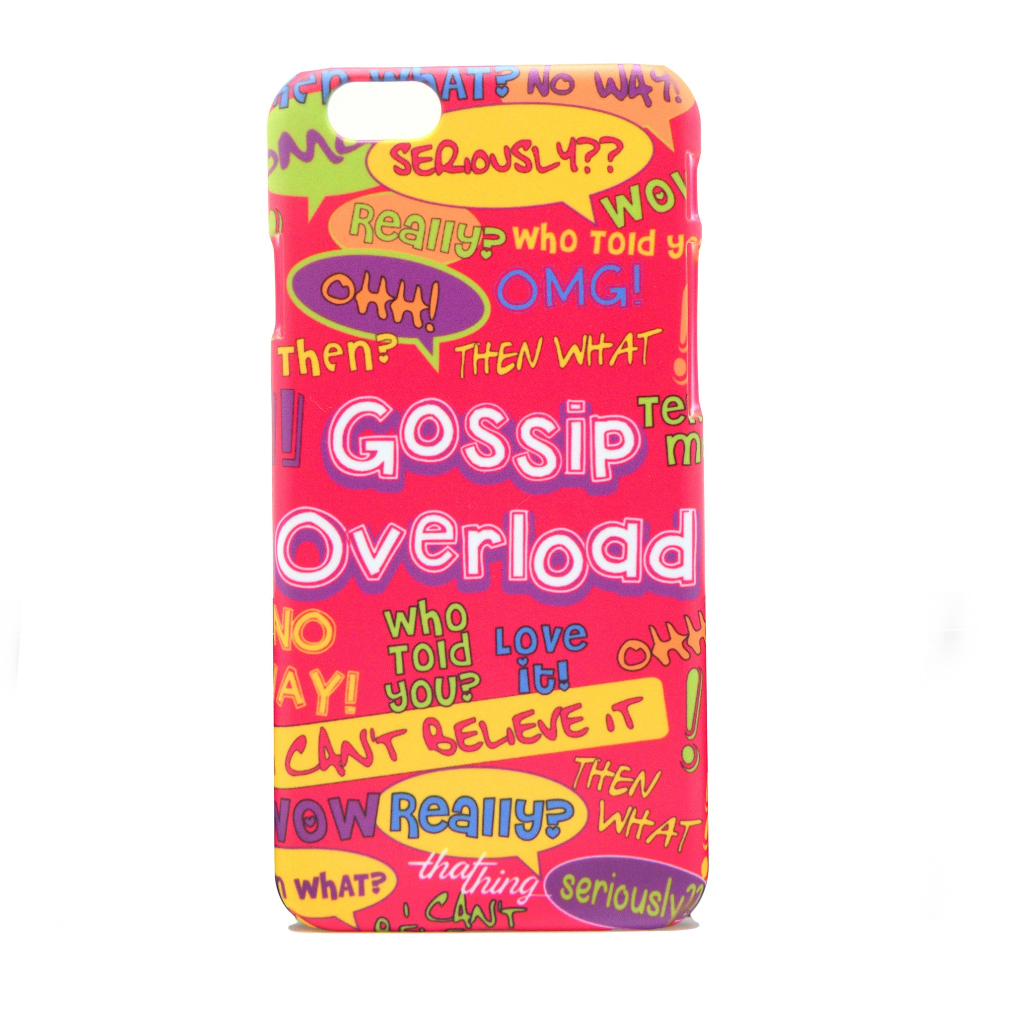 Gossip Overload Phone Cover