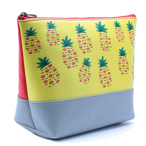Pineapple Kiss Makeup Pouch