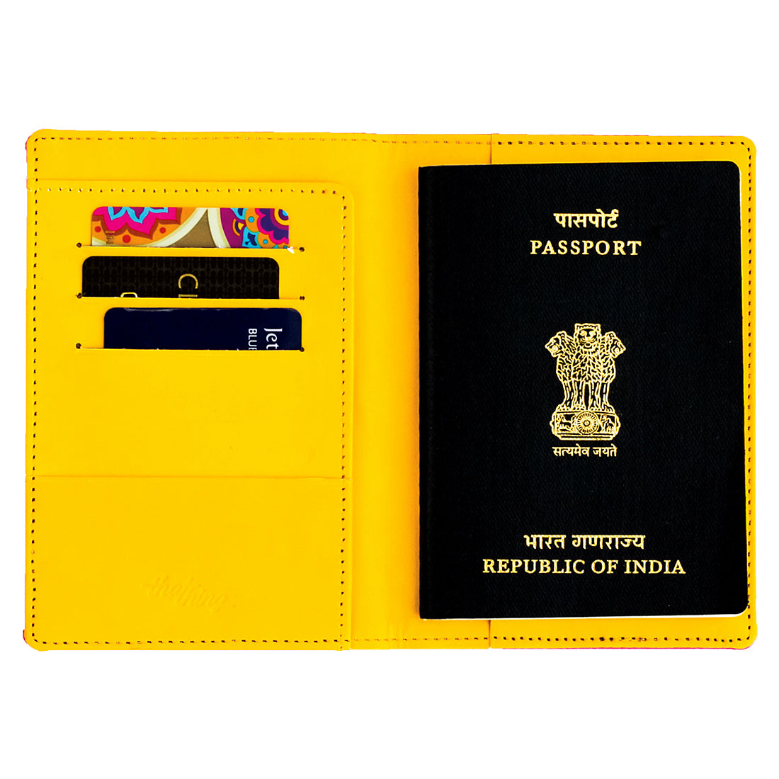 Holiday Time Passport Wallet