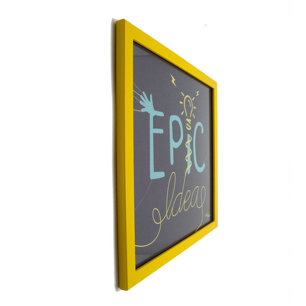 Epic Ideas Blue Canvas Frame