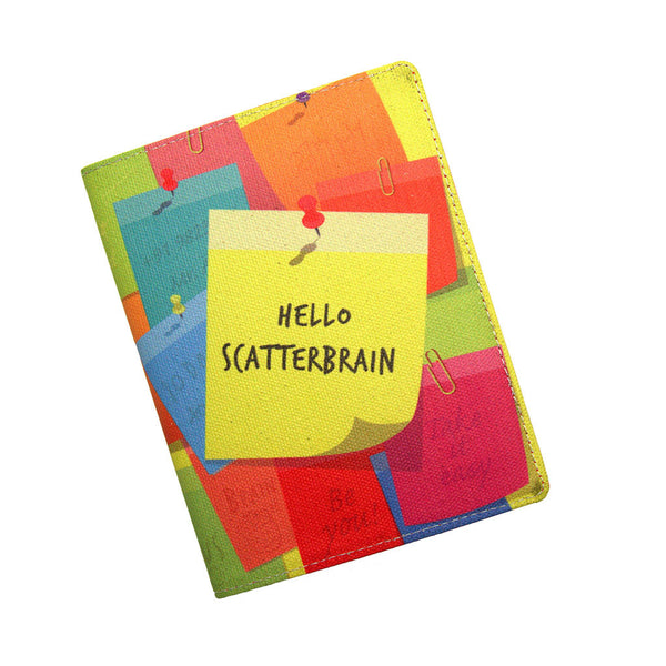 Colorful Diary A6 Hello Scatterbrain Thathing_Main