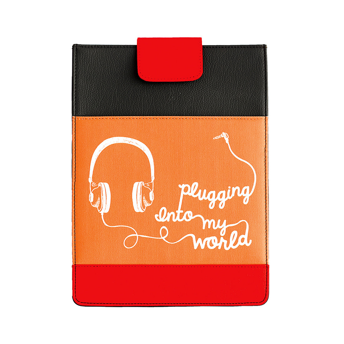 Plugging In Tablet Sleeve