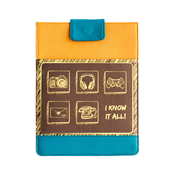 Know It All Tablet Sleeve