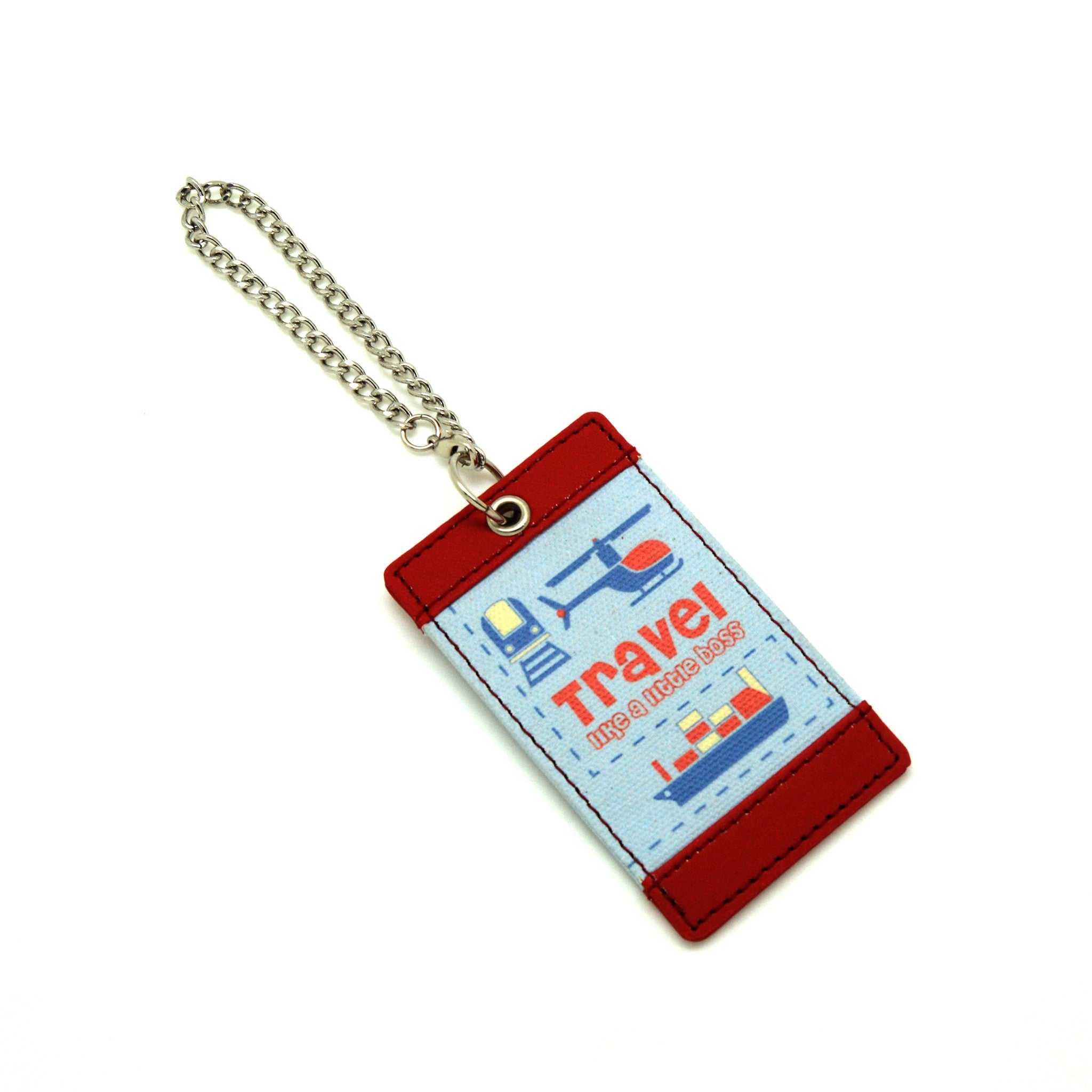 Travel Like a Little Boss Luggage Tag