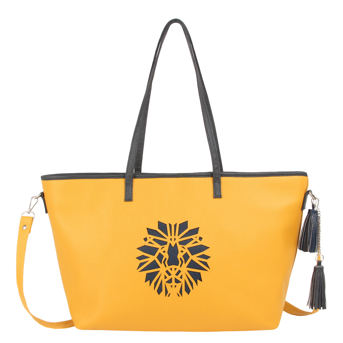 Yellow Lion Handbag