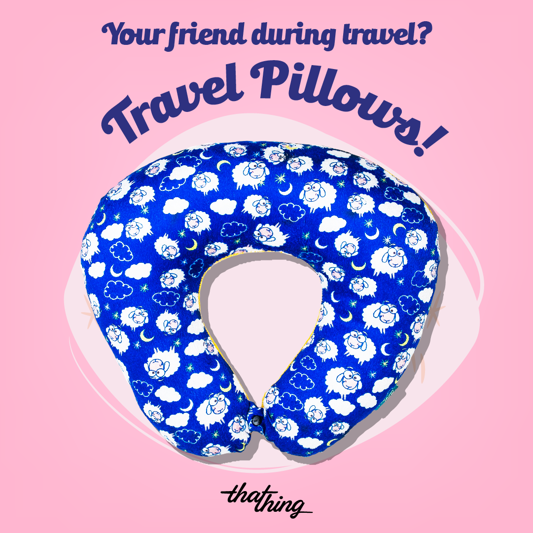 Counting Sheep Travel Pillow