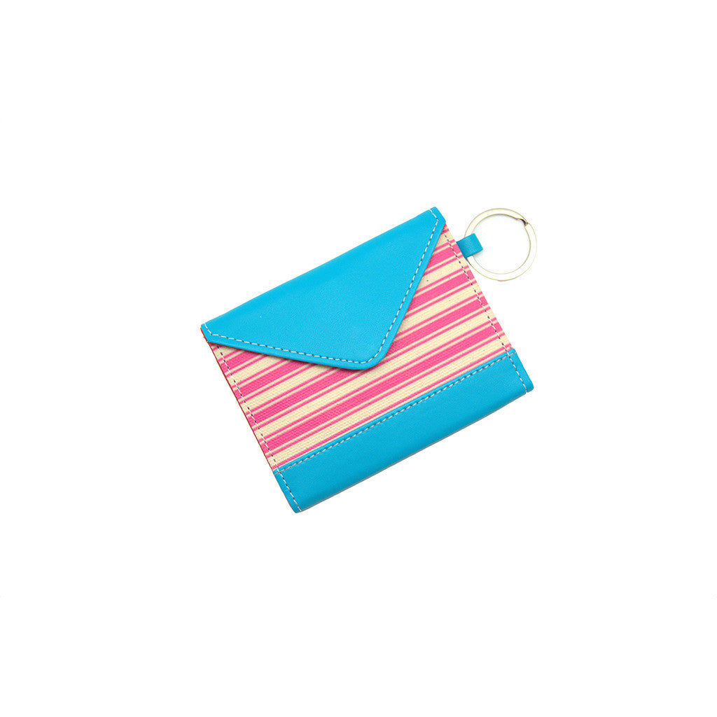Card Holder Pink Stripes Thathing_Main
