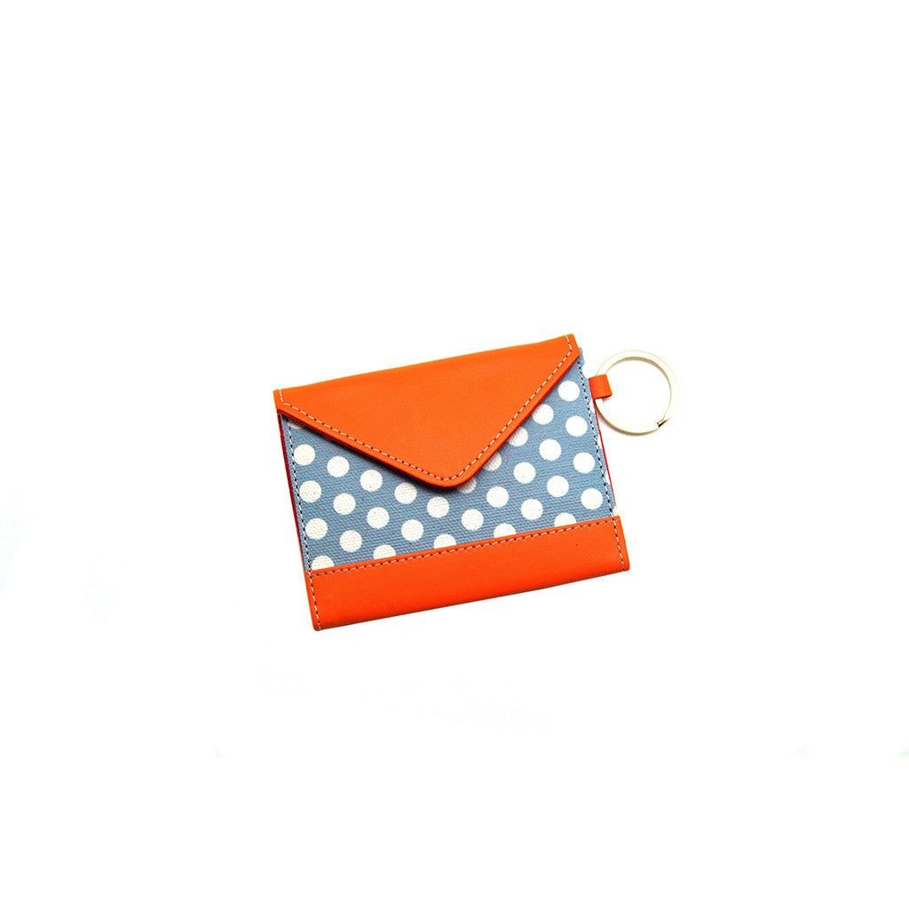 Card Holder Blue Polka Thathing_Main
