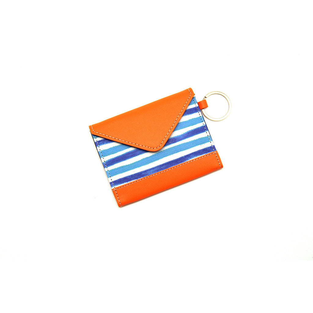 Card Holder Blue Stripes Thathing_Main