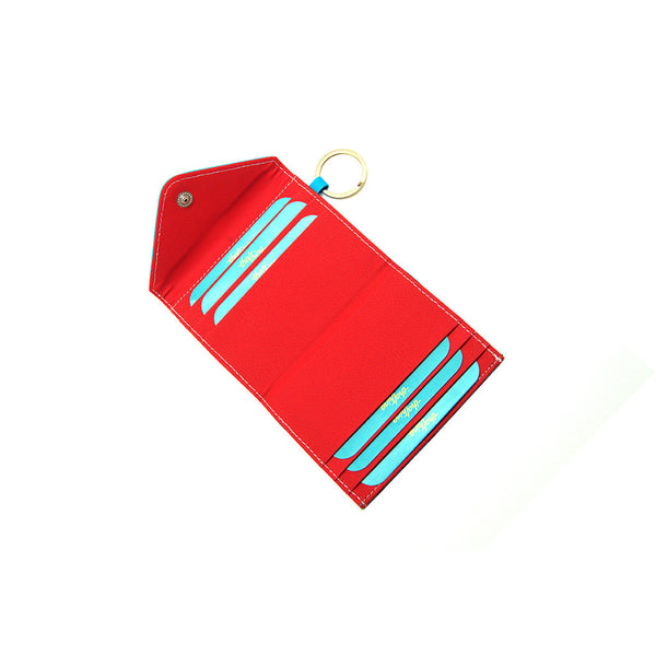 Card Holder Red Thathing_Inside Open