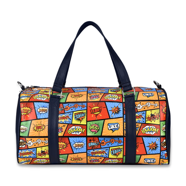 Comic Strip Duffel Bag