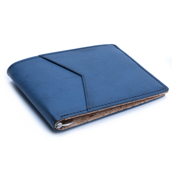 Blue & Cork Money Clip Men's Wallet