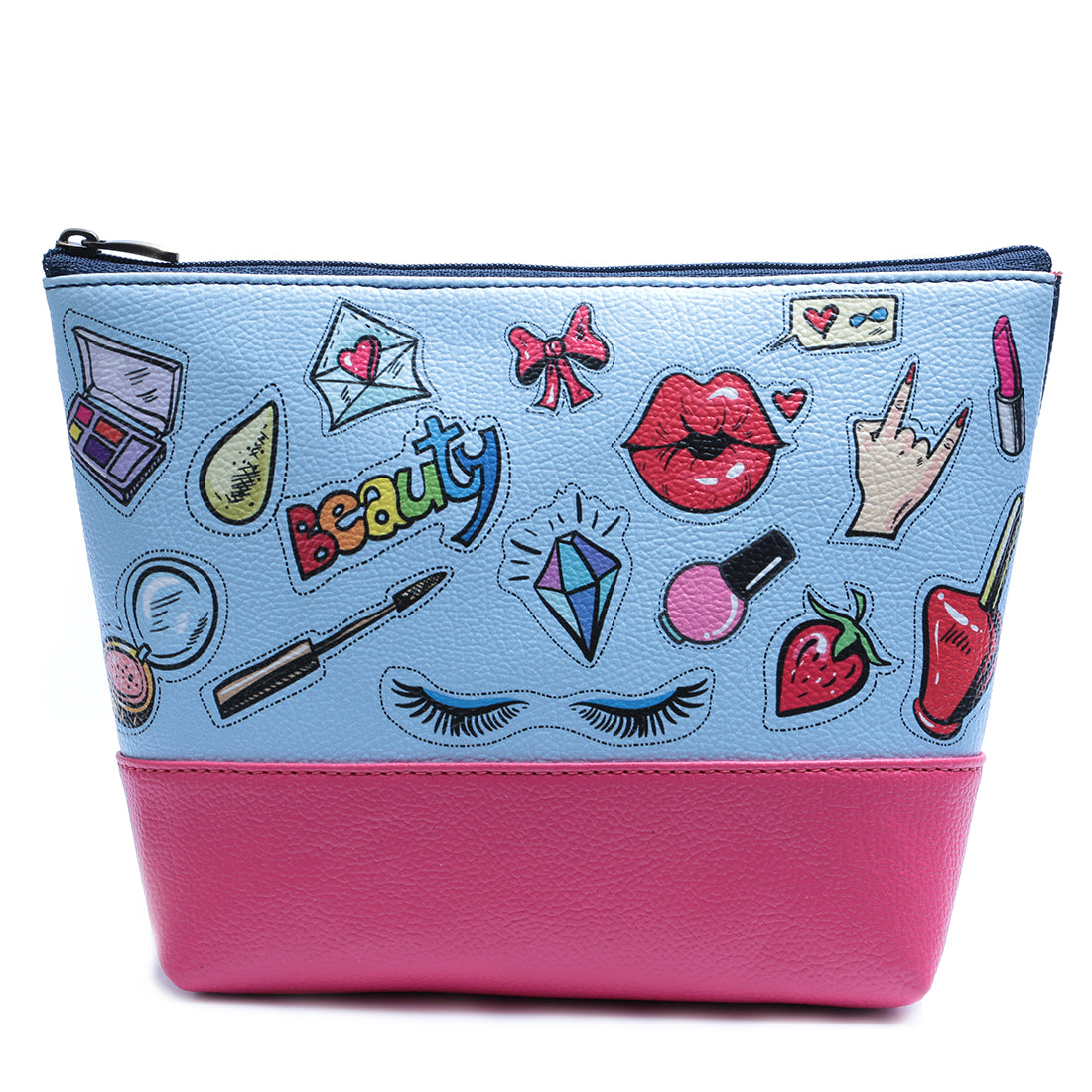 Beauty Sticker Makeup Pouch