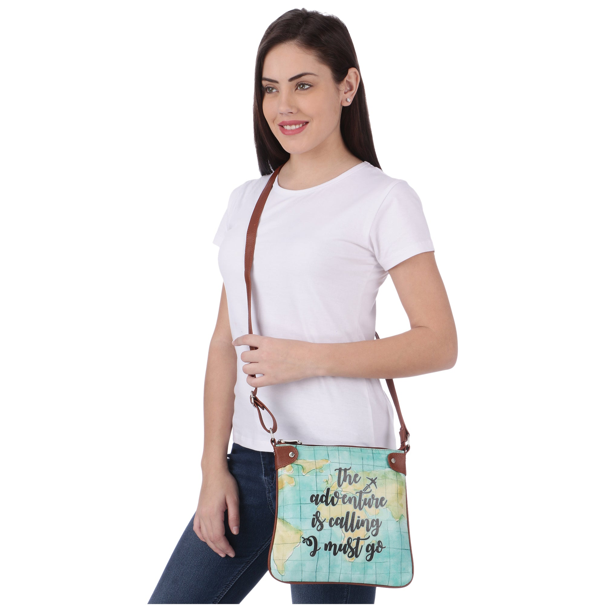 Adventure is Calling Sling Bag