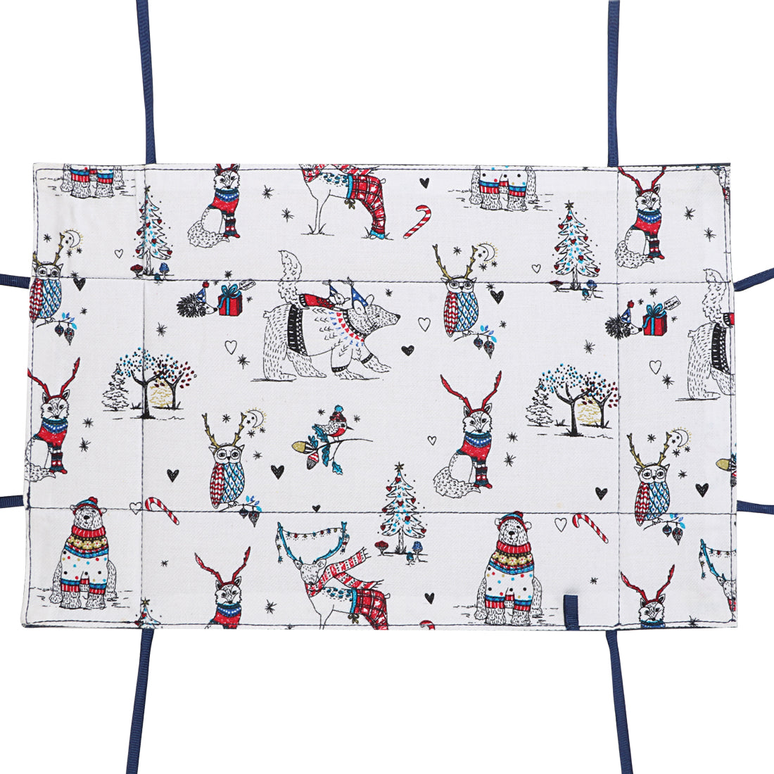 Snow White Rectangle Reversible Tray