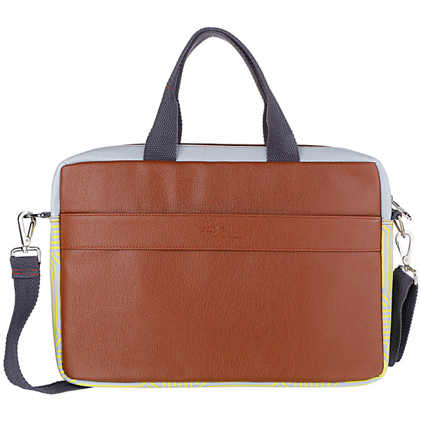 Chip Brown Laptop Bag