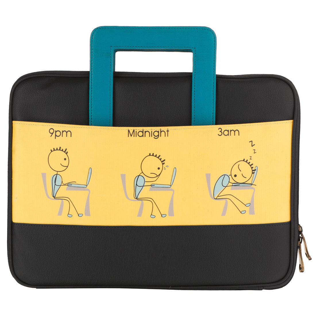 Comic Yellow Laptop Sleeve