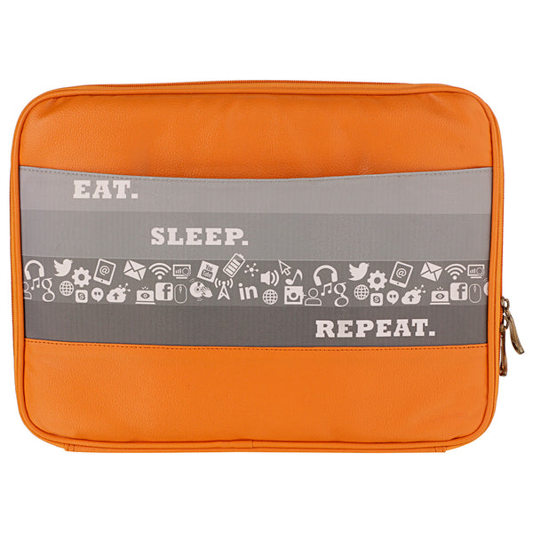 Eat Sleep Repeat Laptop Sleeve