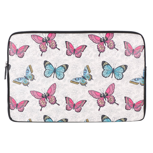 "Roses & Butterflies 15"" Laptop Sleeve"