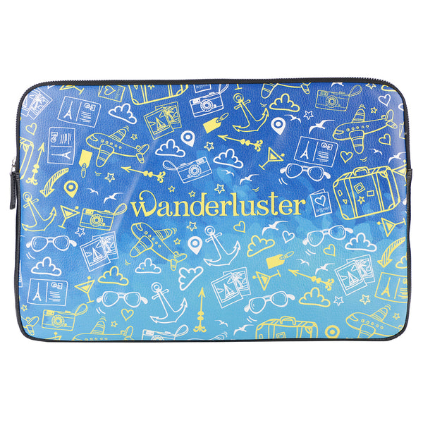 "Wanderluster 15"" Laptop Sleeve"