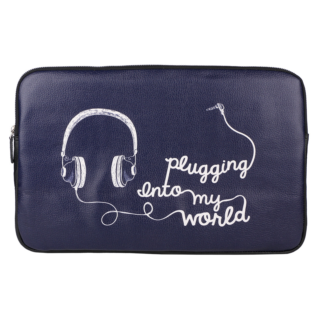 "Plugging In 15"" Laptop Sleeve"