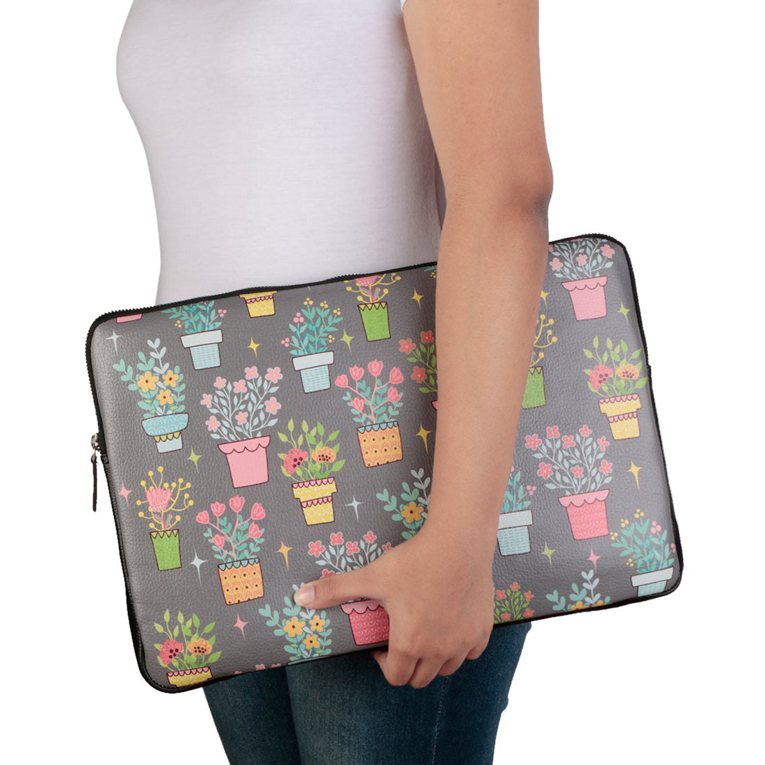 "Flowerpot 15"" Laptop Sleeve"