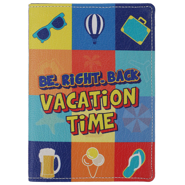Vacation Time Passport Wallet